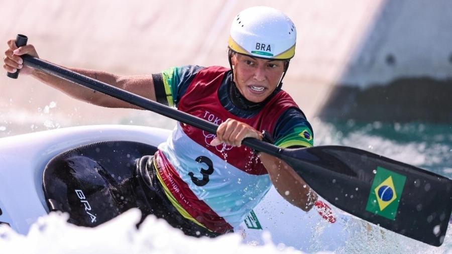 Ana Sátila avançou em segundo lugar na semifinal do C1 nas Olimpíadas de Tóquio - Wander Roberto/COB