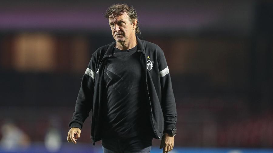 Cuca não gostou da mudança no calendário do Brasileirão por causa de jogos da seleção brasileira - Pedro Souza/Atlético-MG