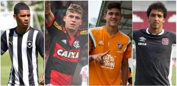 Matheus Fernandes, Matheus Sávio, Pedro e Hugo Borges são os destaques de Botafogo, Flamengo, Fluminense e Vasco