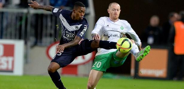 Malcom estreou com a camisa do Bordeaux, mas não conseguiu impedir a derrota da equipe francesa