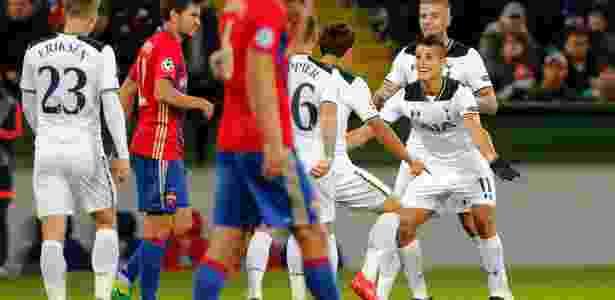 Tottenham se recupera na Champions com vitória na Rússia - Maxim Zmeyev/Reuters - Maxim Zmeyev/Reuters