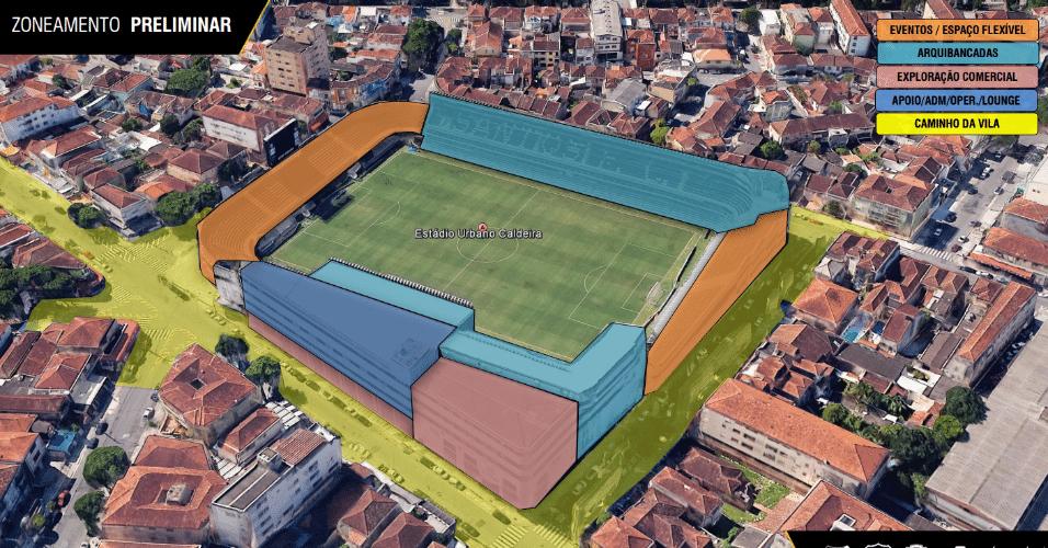 Estádio contará com grama sintética, modelo já utilizado na Arena da Baixada