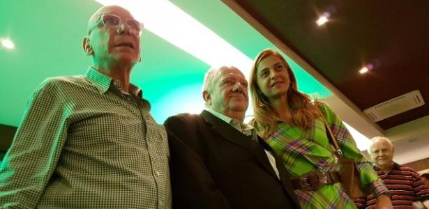 Mustafá apadrinhou José Roberto Lamacchia e Leila Pereira na política palmeirense