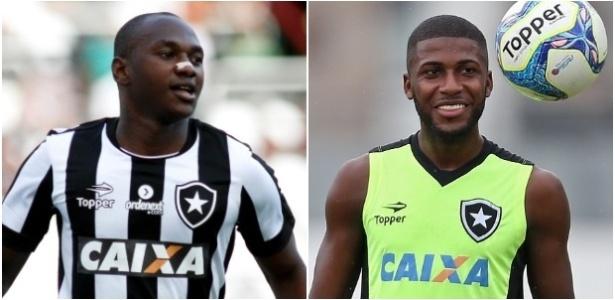 Sassá e Emerson têm contrato terminando em dezembro e podem sair de graça do Botafogo