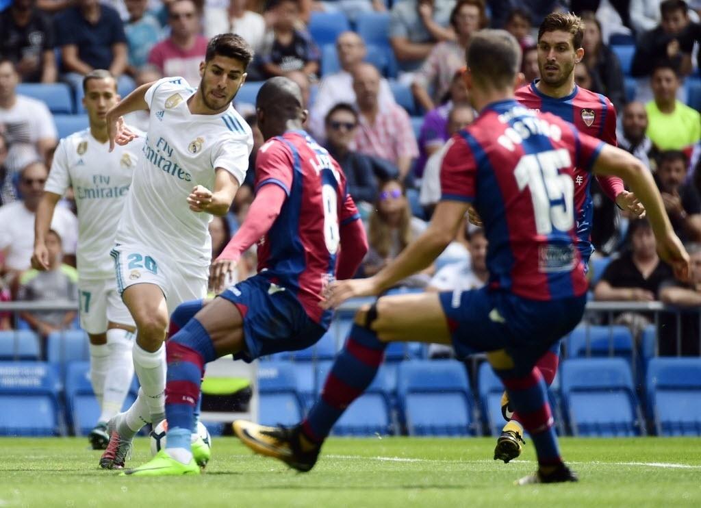 Real Madrid x Levante