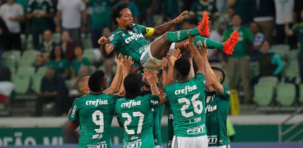 Palmeiras lidera o ranking de clubes da CBF para 2018 ao lado do Cruzeiro
