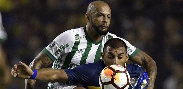 Abila enfrentou o Palmeiras na atual edição da Libertadores - AFP PHOTO / JUAN MABROMATA