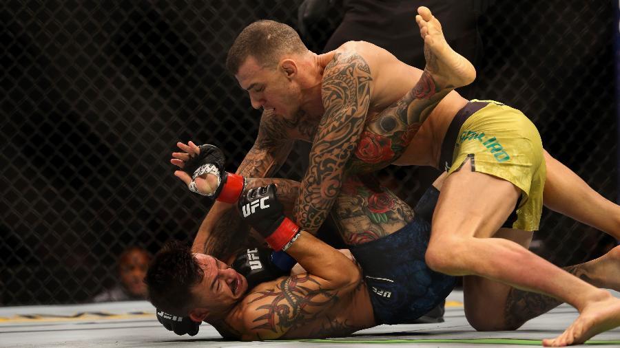 Renato Moicano finaliza Cub Swanson no UFC 227  - Diego Ribas/ Ag. Fight