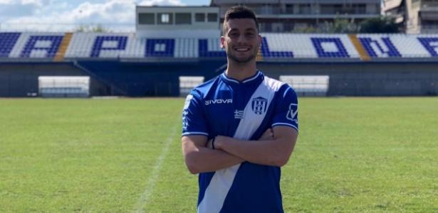 Ex-atacante do Grêmio, Lucas Poletto vai jogar no Apollon FC, da Grécia - Divulgação