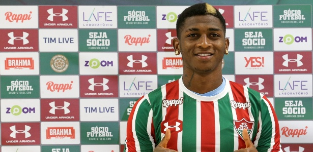 Yony Gaonzález deve estar regularizado a tempo de atuar na segunda rodada - Lucas Merçon/Fluminense