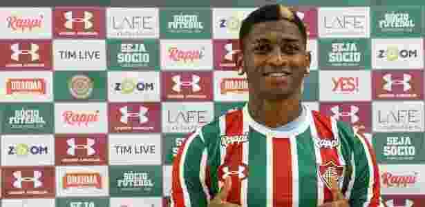 GHonzález foi uma das contratações do Fluminense para a temporada - Lucas Merçon/Fluminense