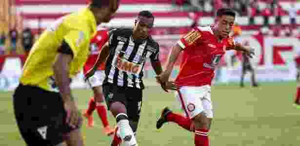 Jogadores de Atlético-MG e Tombense disputam a bola - divulgação/Atlético-MG