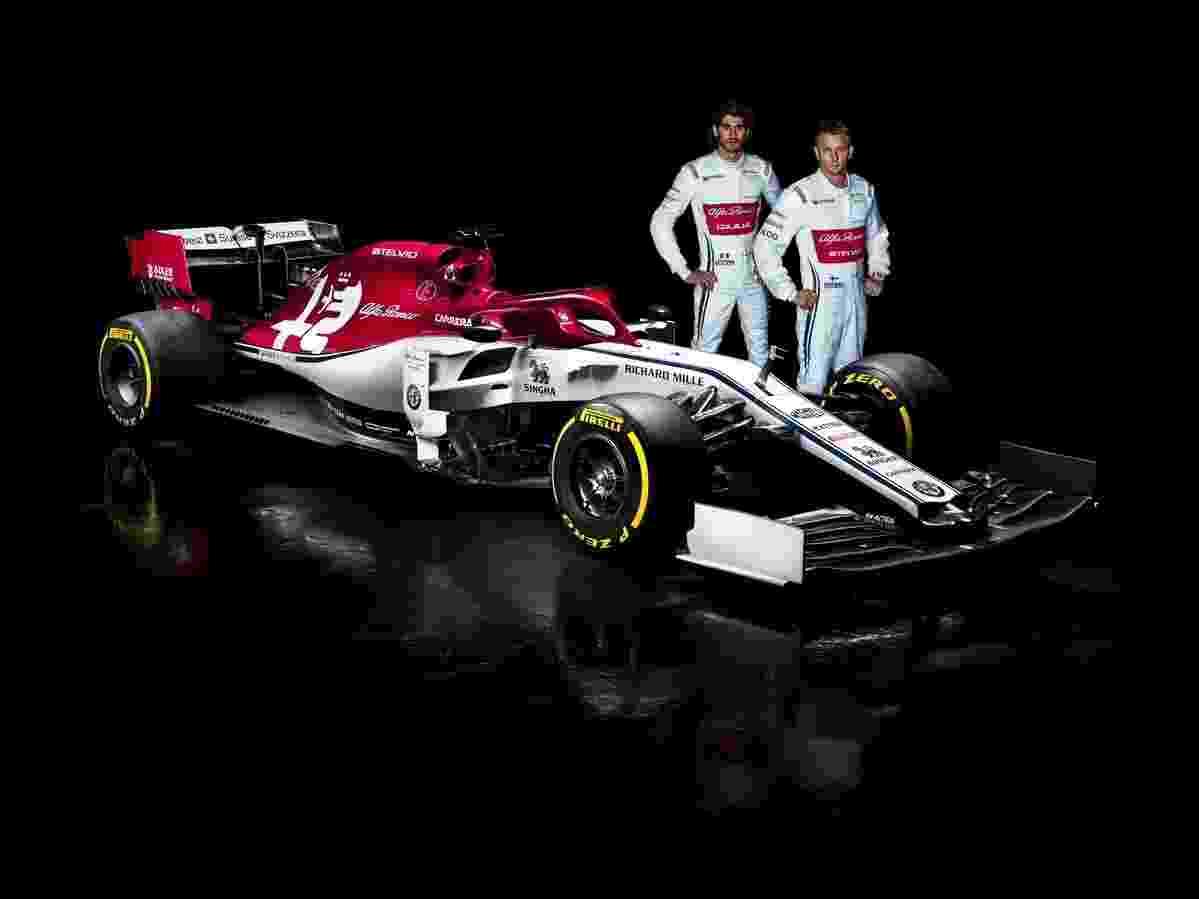 Carro novo da Alfa Romeo Racing na Fórmula 1 - Divulgação/Alfa Romeo Racing