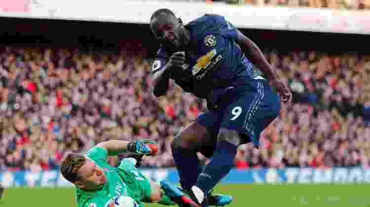Lukaku quase empata o jogo para o United - REUTERS/Eddie Keogh - REUTERS/Eddie Keogh