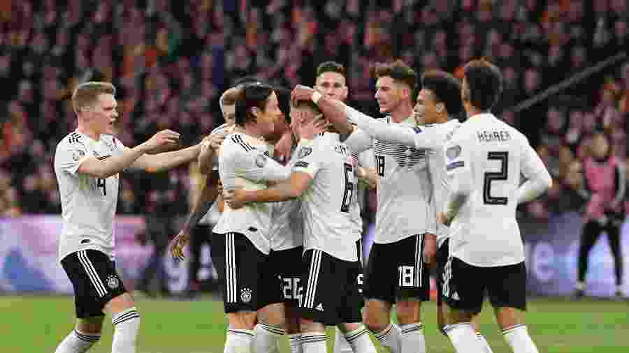 Alemanha não vencia um jogo oficial desde a Copa do Mundo - EMMANUEL DUNAND / AFP