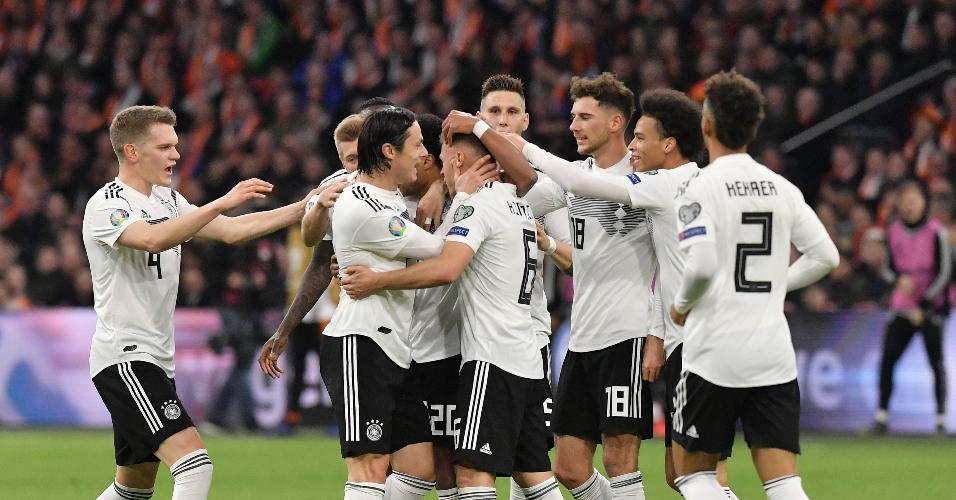 Alemanha não vencia um jogo oficial desde a Copa do Mundo