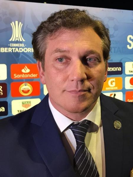 Presidente da Conmebol Alejandro Dominguez  - Pedro Ivo Almeida/UOL Esporte