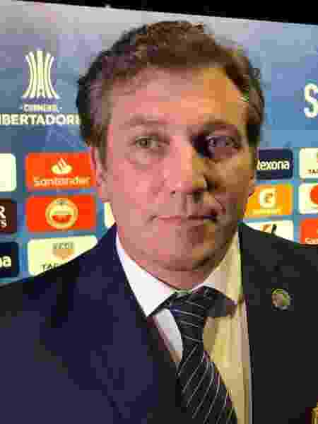 Presidente da Conmebol, Alejandro Dominguez - Pedro Ivo Almeida/UOL Esporte