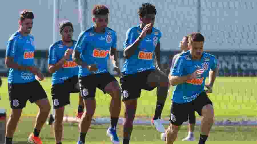 Corinthians deve enfrentar uruguaios com mesma escalação que enfrentou o Flamengo - AULO GUERETA/AGÊNCIA O DIA/ESTADÃO CONTEÚDO