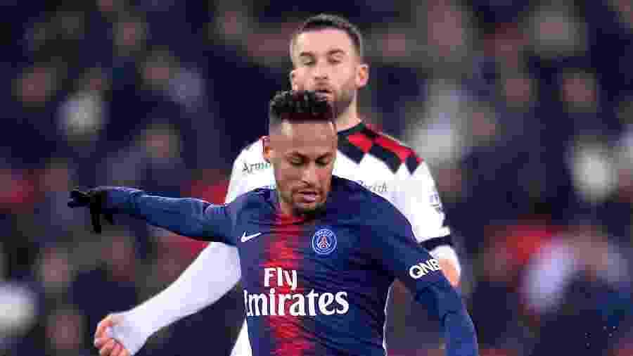 Neymar, em PSG x Guingamp, pelo Campeonato Francês - Aurelien Meunier - PSG/PSG via Getty Images