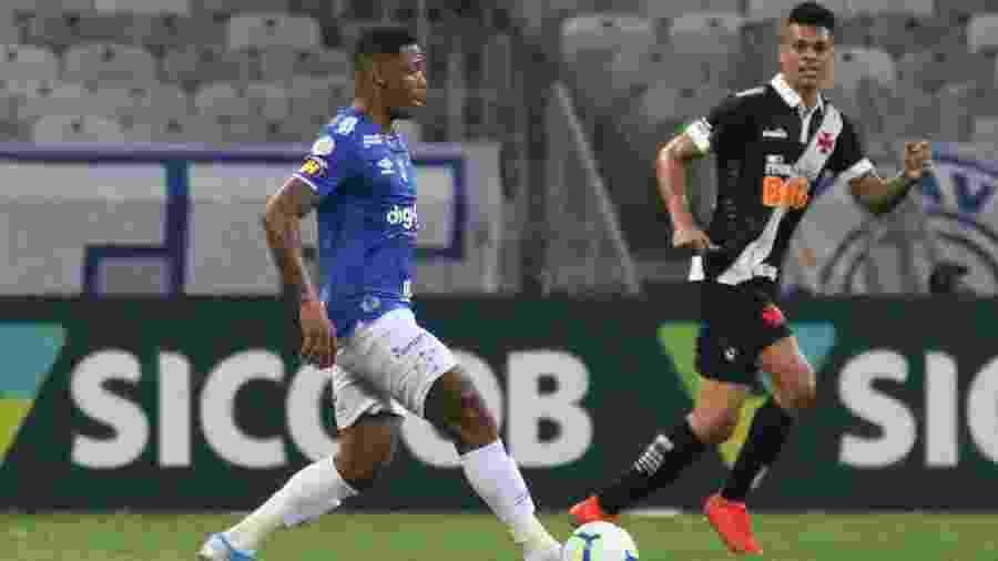 No primeiro turno do Brasileiro, Cruzeiro e Vasco se enfrentaram no Mineirão - Fernando Moreno/AGIF