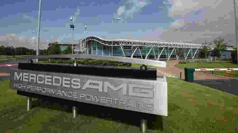 Fábrica da equipe Mercedes de Fórmula 1 - Divulgação