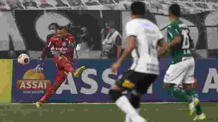 Weverton, goleiro do Palmeiras - Cesar Greco/Ag. Palmeiras - Cesar Greco/Ag. Palmeiras