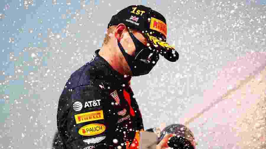Max Verstappen comemora vitória no GP de Silverstone - Bryn Lennon/Getty Images