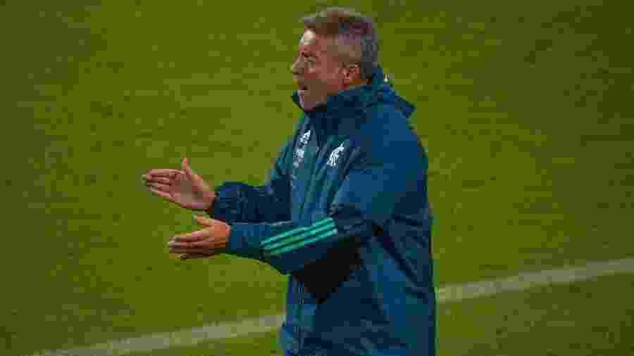 Domènec Torrent, técnico do Flamengo, é pressionado após derrota na Libertadores - Alexandre Vidal / Flamengo