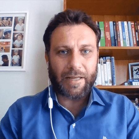 André Loffredo, no SporTV News - Reprodução/Instagram