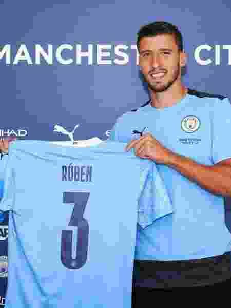 Português Rúben Dias pode ser o último reforço do Manchester City para esta temporada - Divulgação
