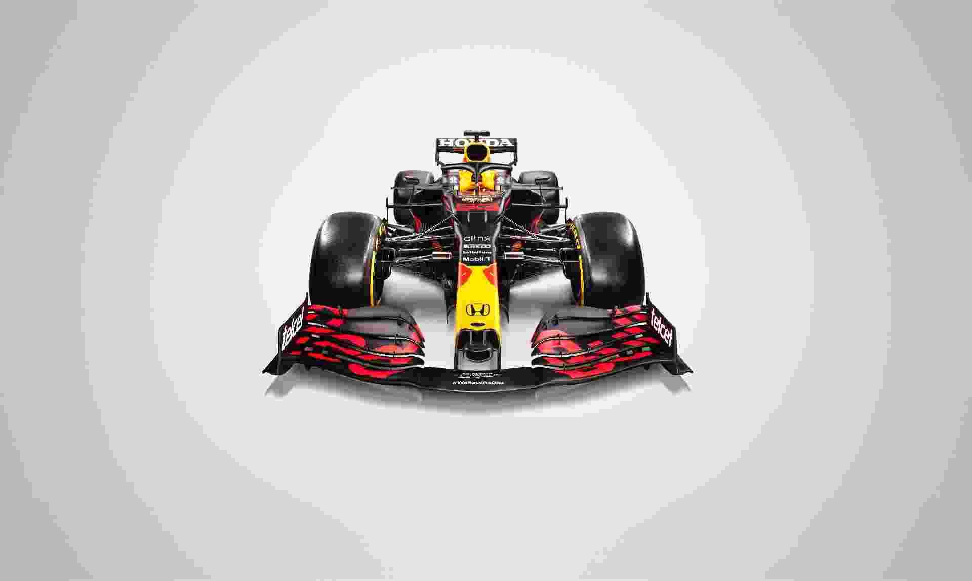 Evolução do carro do ano passado já que as regras ficam relativamente estáveis em 2021, novo Red Bull se chama RB16B - Red Bull Content Pool
