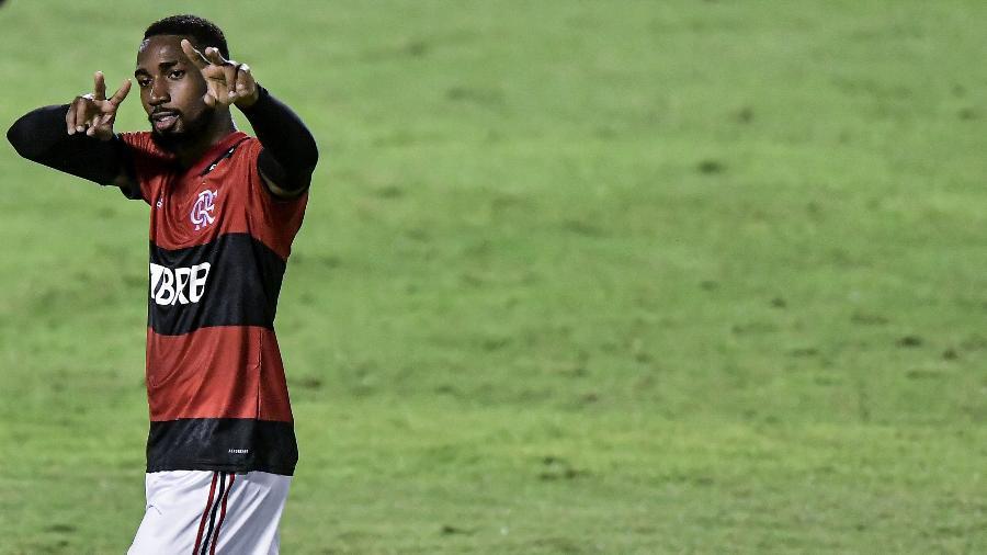 Gerson, do Flamengo, é um dos integrantes da seleção da América do Sul - Thiago Ribeiro/AGIF