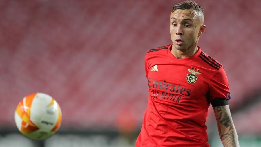 Éverton Cebolinha teve ótima atuação em vitória do Benfica - Getty Images