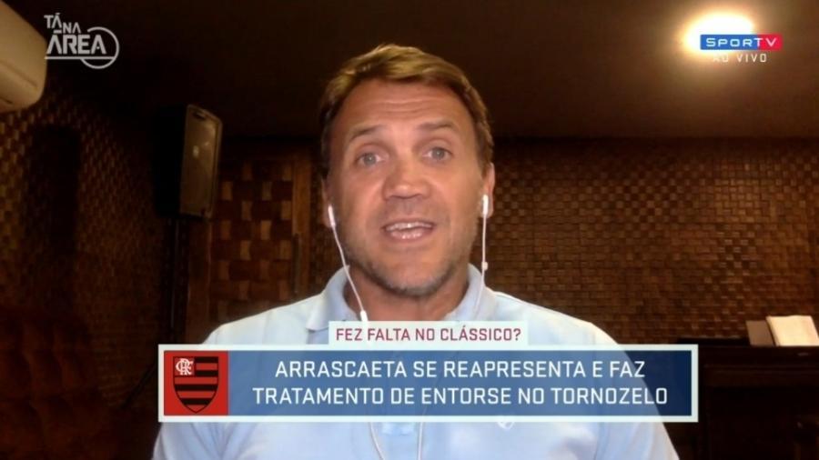 Petkovic vê Vasco mais eficiente que Flamengo em clássico - Reprodução/SporTV