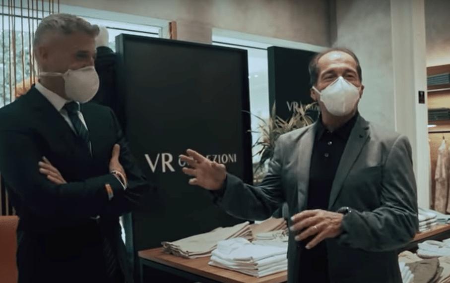 Crespo e Muricy de terno em vídeo do São Paulo