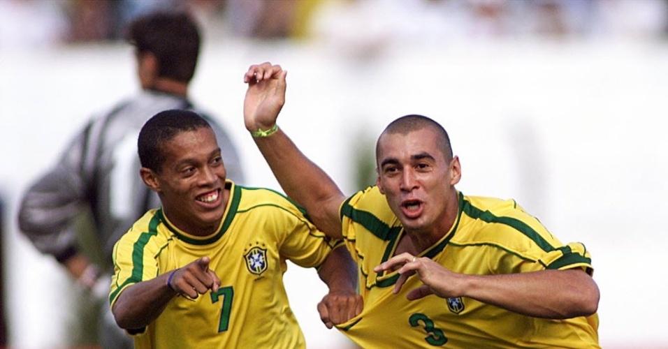 Fabio Bilica esteve com Ronaldinho na Olimpíada de 2000