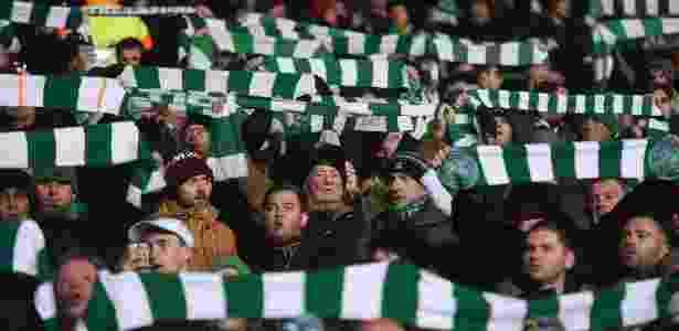 Torcida Celtic - Paul Ellis/AFP - Paul Ellis/AFP