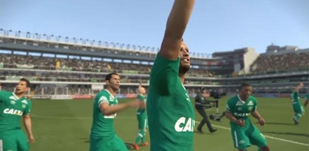 Chapecoense ganhará homenagem no Pro Evolution Soccer - Reprodução