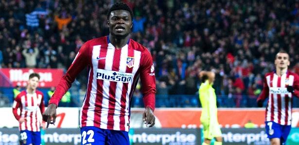 Desde 2015 no Atlético de Madrid, ganês Thomas Partey tem 125 pelo clube - Gonzalo Arroyo Moreno/Getty Images