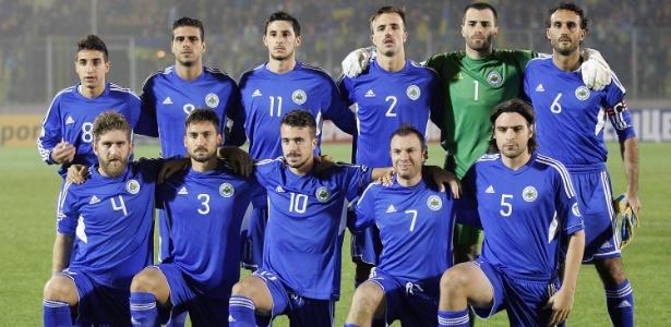 Seleção de San Marino ocupa a 202ª posição no ranking da Fifa