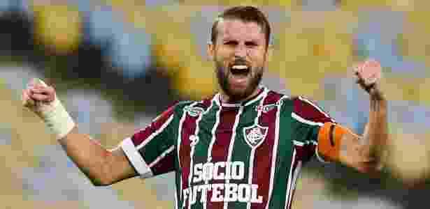 Henrique foi liberado pelo Fluminense durante a última semana - LUCAS MERÇON / FLUMINENSE F.C.