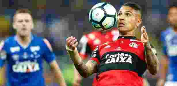Guerrero deve ser poupado na rodada do fim de semana do Campeonato Brasileiro - THIAGO CALIL/PHOTOPRESS/ESTADÃO CONTEÚDO