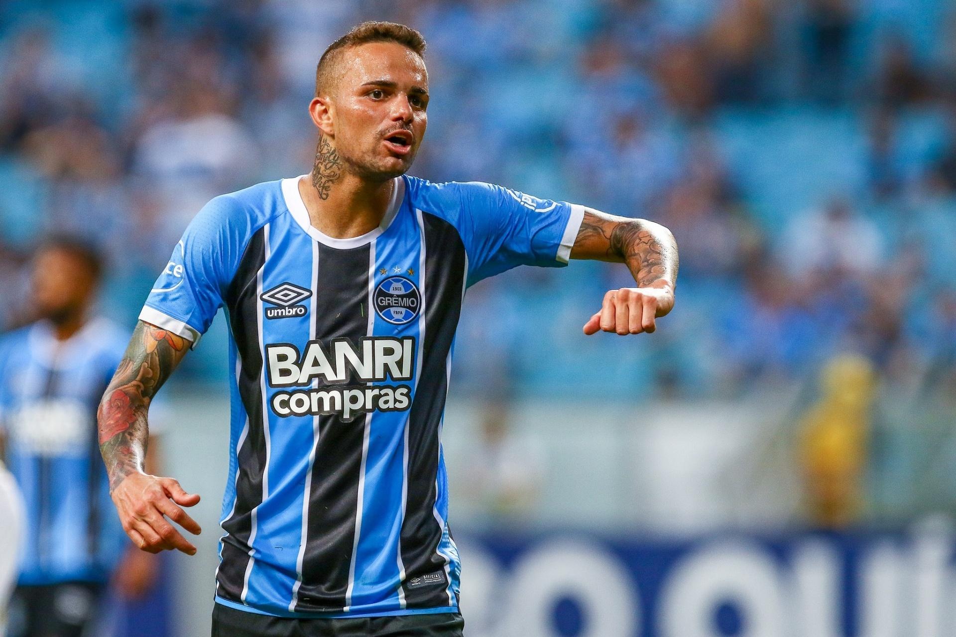 194080a92c Luan não enfrenta o Bahia e deve voltar ao Grêmio contra o Palmeiras -  01 06 2018 - UOL Esporte