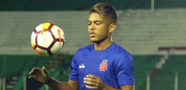Evander treinará à parte junto com Wellington, Paulão e Gabriel Félix no Vasco