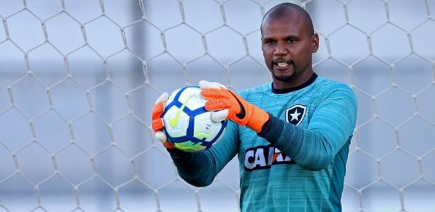 Jefferson deve se despedir do futebol no duelo contra o Paraná - Vitor Silva/SSPress/Botafogo