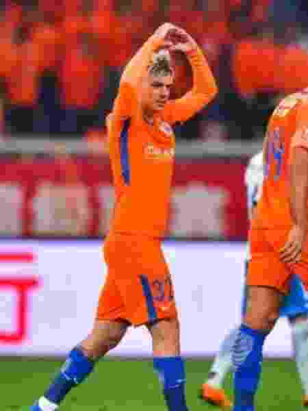 Roger Guedes - Shandong Luneng/Site oficial - Shandong Luneng/Site oficial