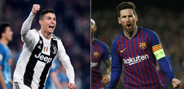 Títulos e gols: Messi e CR7 têm duelo particular em retomada da Champions
