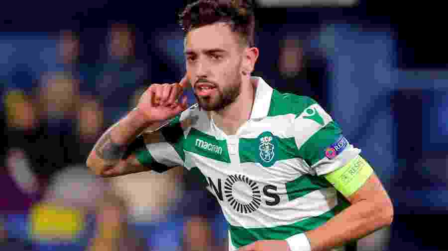 Bruno Fernandes, do Sporting - HEINO KALIS/REUTERS