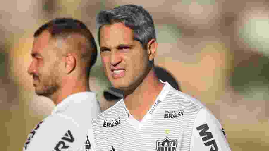 Rodrigo Santana, técnico do Atlético-MG, espera o time com força máxima diante do Avaí - Bruno Cantini/Divulgação/Atlético-MG